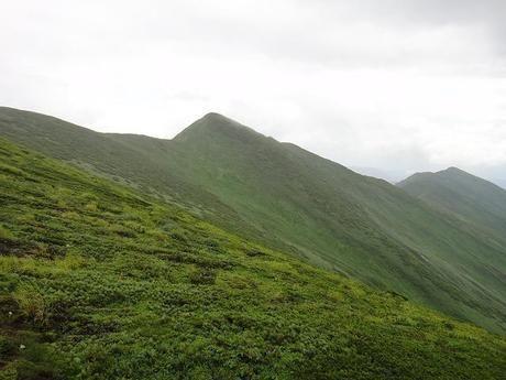 雲取山の三峯神社ルート
