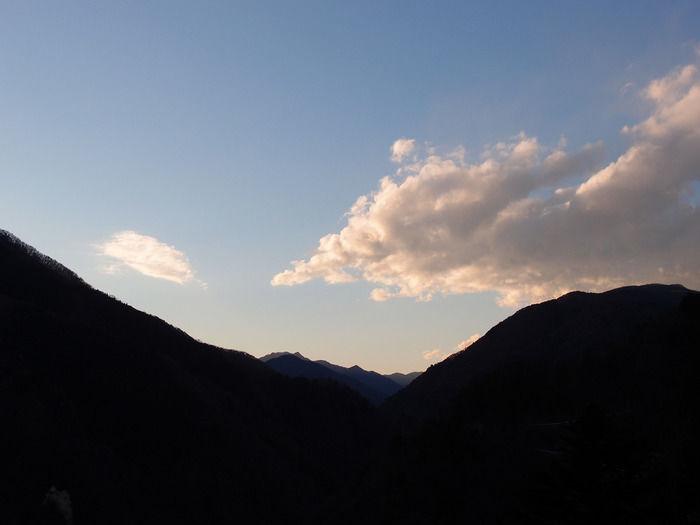 雲取山からみた空