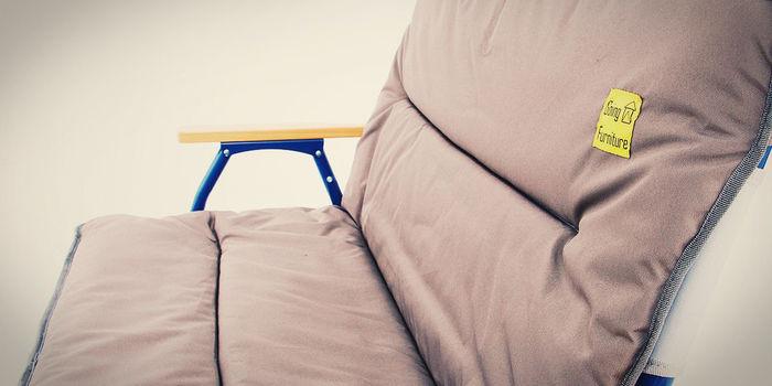 ゴーイングファニュチャーのソファ