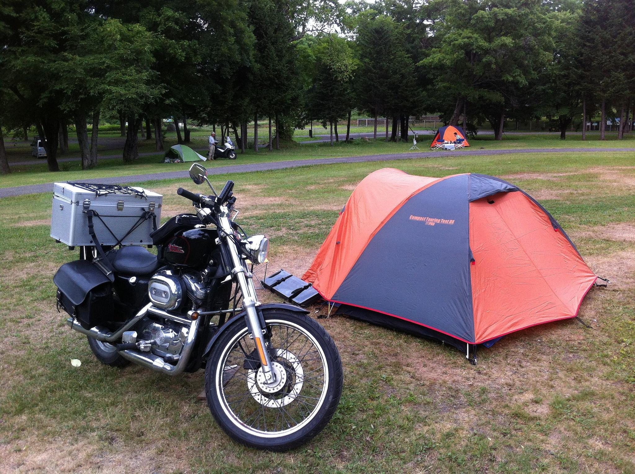 自由と刺激を求めて旅に出よう。キャンプツーリングのすすめ