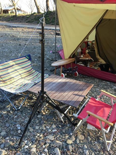 テントとテーブルとチェア