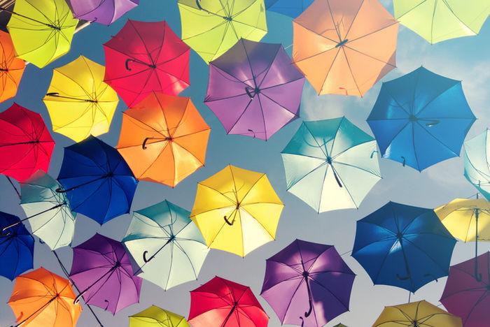 フライングタイガーコペンハーゲンの折り畳み傘