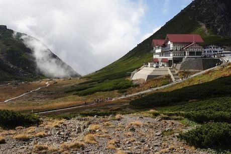 乗鞍岳の肩ノ小屋