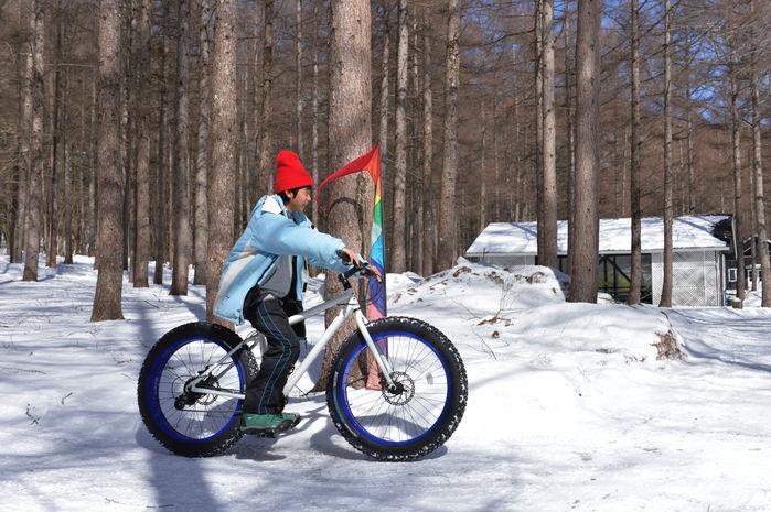 ファットバイクに使用する男の子