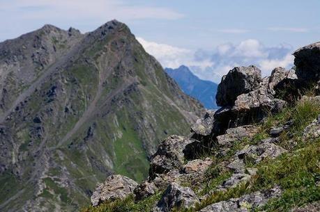 南アルプス北部の鳳凰三山