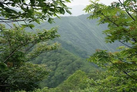 谷川岳の山脈