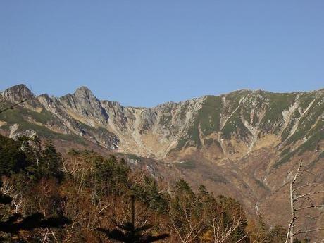 木曽駒ケ岳の景観
