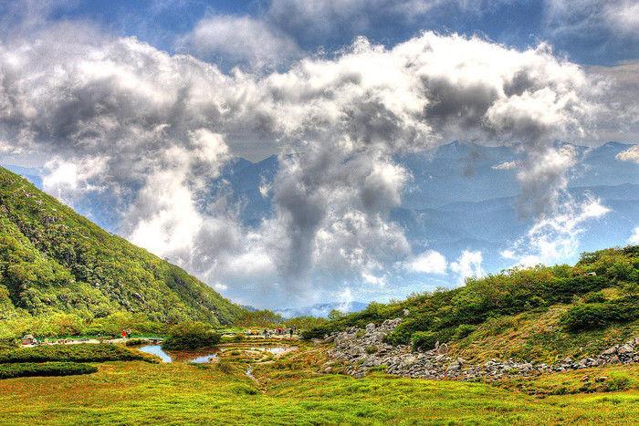 自然豊かな木曽駒ケ岳