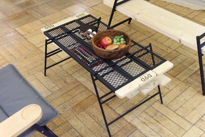 鉄×木のテーブル、「テキーラテーブル」