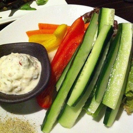 スティック野菜カラフルディップ