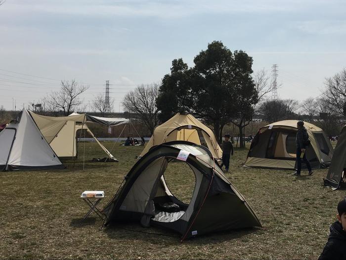 キャンパルジャパンのテント
