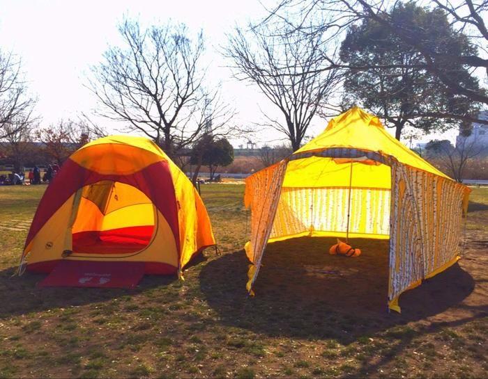 ビッグアクネスのテント