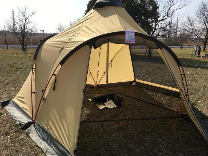 トレスのテント