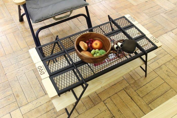 上から見たテキーラテーブル