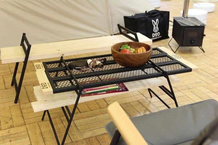 横から見たテキーラテーブル