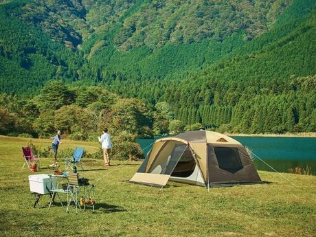 ogawaのテントでのキャンプ