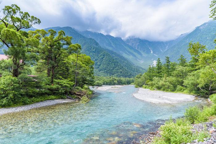 長野県の上高地
