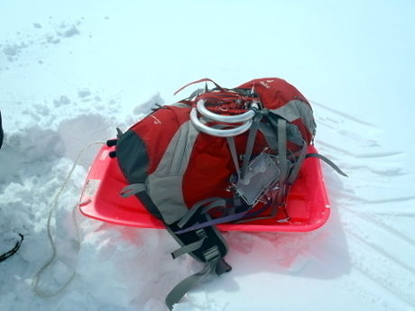 雪山で遊ぶ道具