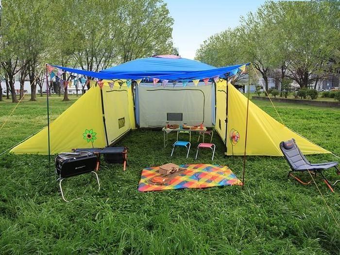 3LDKタイプのドッペルギャンガーのテント