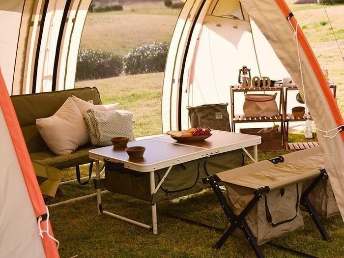 ドッペルギャンガーのテントの内部の様子