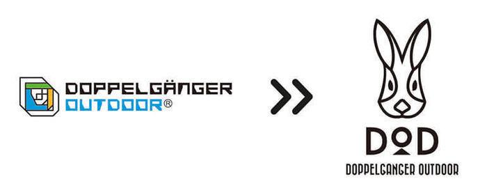 ドッペルギャンガーのテントのロゴ