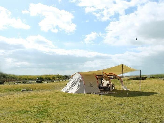 ドッペルギャンガーのテントの外観