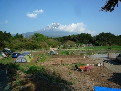 富士山が見えるおいしいキャンプ場