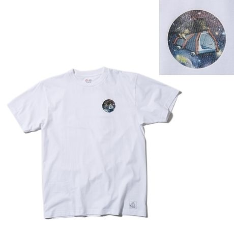 SNAKE'S PORNO WHEEL×GO OUT space tent cat