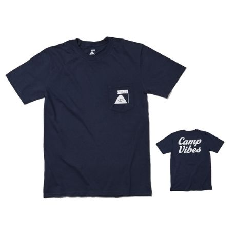 POLeR×GO OUT Camp Vibes Pocket Tee -GO OUT Version-