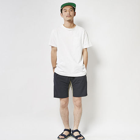 ROKX×GO OUT PACKABLE TRAVEL SHORT