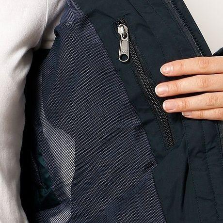 ノースフィスのスクープジャケットの内側のポケット