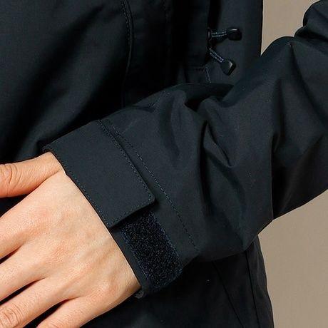 ノースフィスのスクープジャケットの袖口
