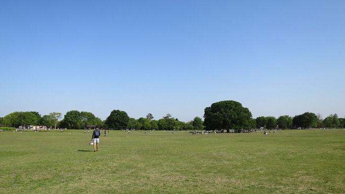 国営昭和記念公園のバーベキューガーデン