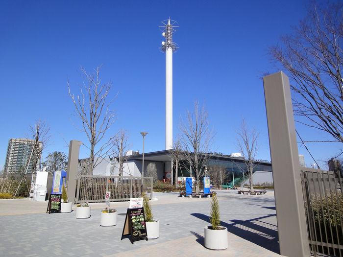 東京臨海広域防災公園のそなエリア東京バーベキューガーデン