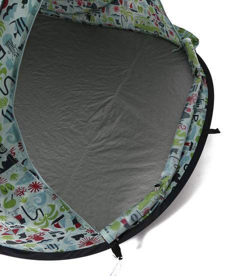 上から見た小型テントの様子