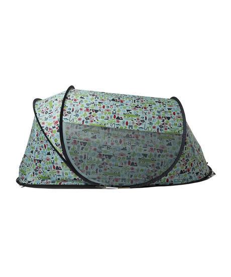 横から見た小型テント