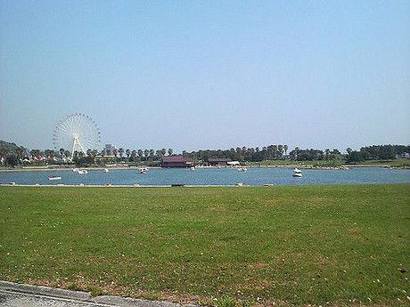 赤穂海浜公園オートキャンプ場の様子