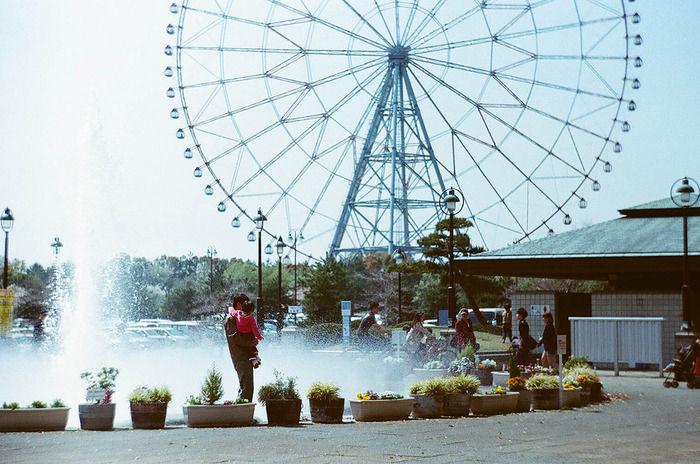 葛西臨海公園のダイヤと花の大観覧車
