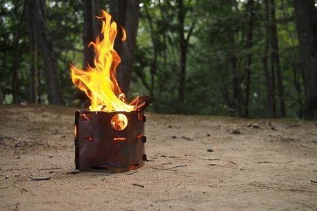 小枝が燃えるピコグリル239