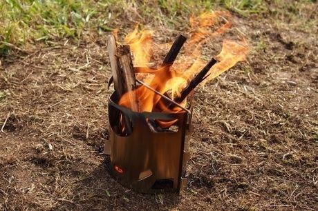 小枝が燃えるピコグリル85