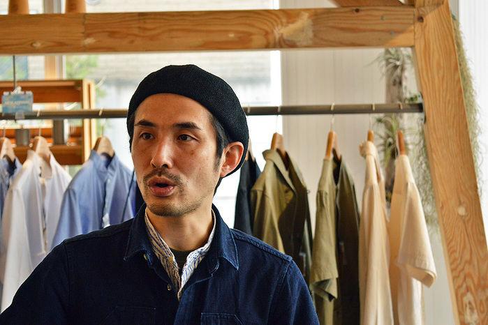 スノーピーク表参道店、店長の杉山さん