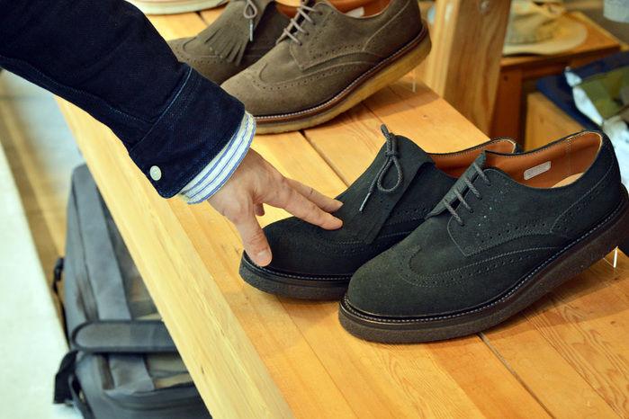 スノーピークの革靴