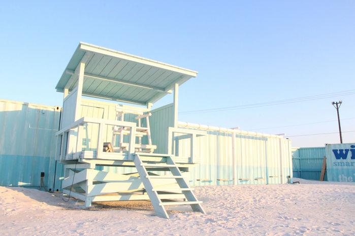 WILD BEACHの砂浜