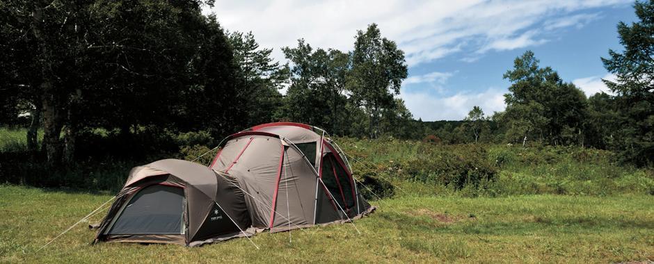リビングシェルで快適なキャンプを!スノーピークの鉄板シェルターを徹底解説