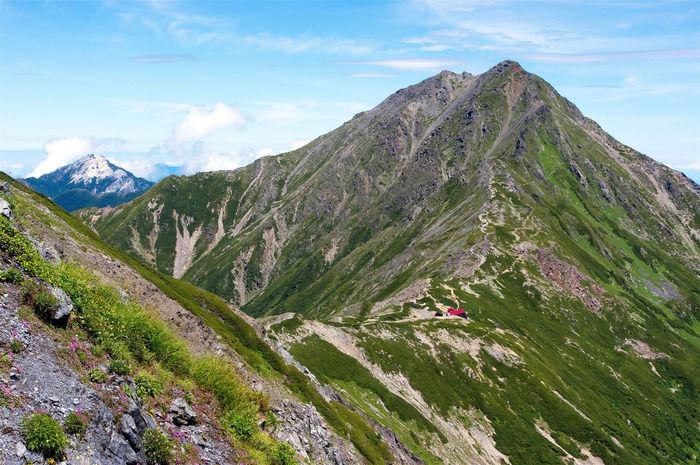 南アルプスの山脈
