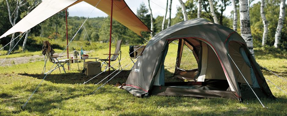 ソロ~6人用テントが揃うランドブリーズ!サイズ別の特徴やおすすめコーディネートを紹介!