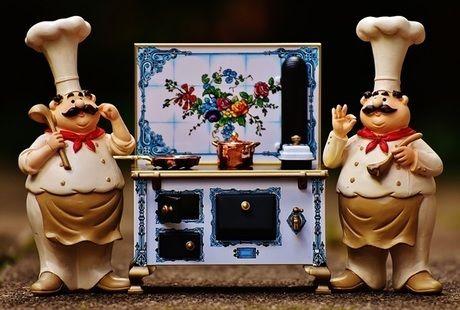 コックさんとキッチン