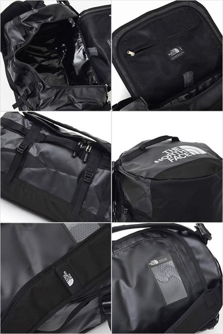 ノースフェイスのダッフルバッグの機能