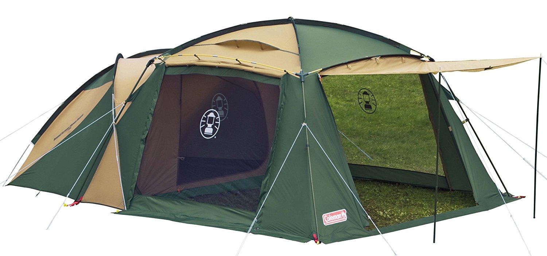 テントは我が家!広くて設営簡単なコールマンのラウンドスクリーン2ルームハウスでのんびり過ごそう♪