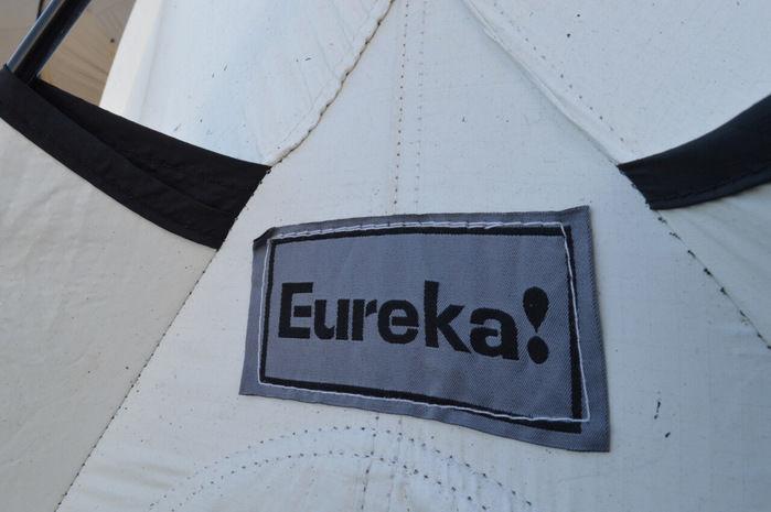 eureka!のテントサイトのブランドロゴ